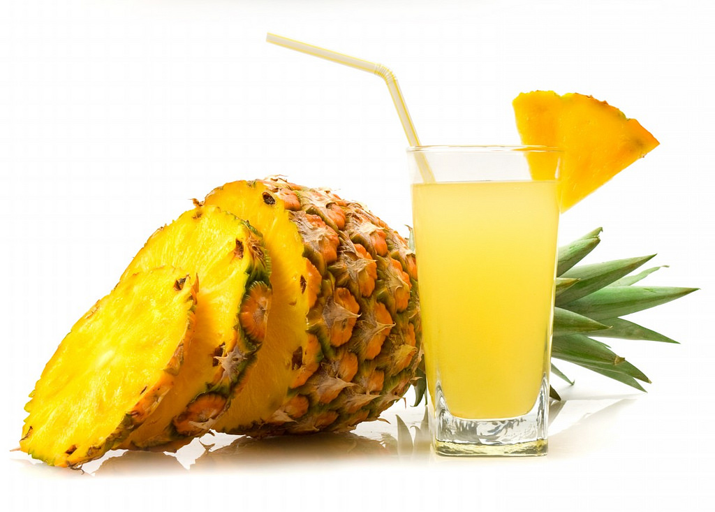 Pineapple Juice Image source -- https://www.flickr.com/photos/112097646@N07/13461403854/sizes/l