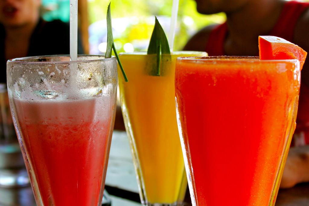 Fruit Juices Image source - https://www.flickr.com/photos/129445997@N02/15927829838/sizes/l